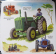 Classic Tractors cork backed drinks mat / coaster   (lsn)